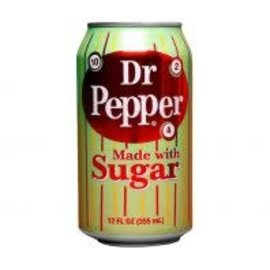Dr. Pepper Dr. Pepper Made With Sugar blik 0,355 l