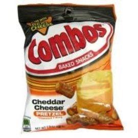 Combo's Combo Cheddar filled pretzels