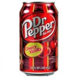 Dr. Pepper Dr. Pepper Cherry Vanilla blik 0.355 l