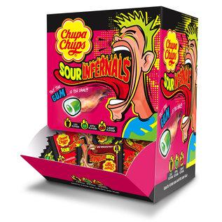 Chupa Chups Chupa Sour Infernals Gum 4 gr