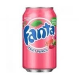 Fanta Fanta Fruit Punch Can