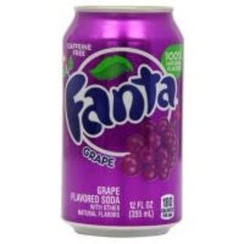 Fanta Fanta Grape Can