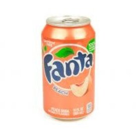 Fanta Fanta Peach Can