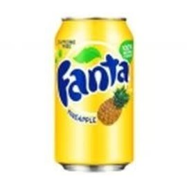 Fanta Fanta Pineapple Can