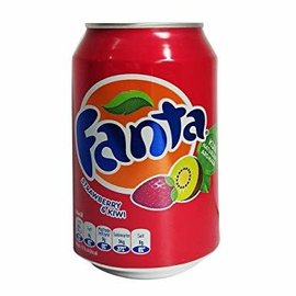 Fanta Fanta Strawberry Kiwi Can