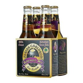 Flying Cauldron Butterscotch Beer Soda 4-pack