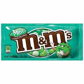 M&M's M&M's mint with dark chocolat 42.5 gr
