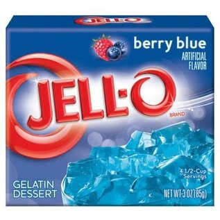 Jell-O Jell-O Berry Blue