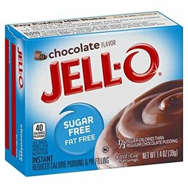 Jell-O Jell-O Instant Pudding Chocolate Sugar Free