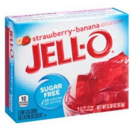 Jell-O Jell-O Strawberry Sugar Free