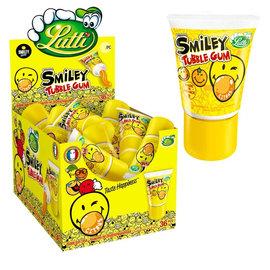 Lutti Lutti Tubble Gum Citrus Smiley 35 gr