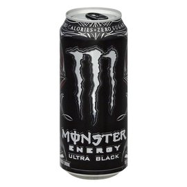 Monster Monster Energy Ultra Black