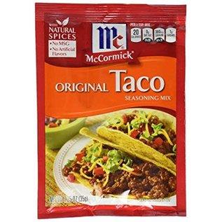 McCormick McCormick's Original Taco seasoning mix 28 gr