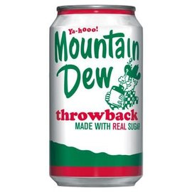 Mountain Dew Mountain Dew Throwback