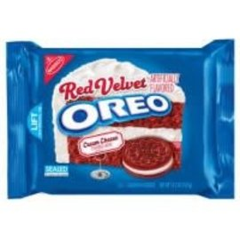Nabisco Nabisco Oreo Red Velvet Sandwich Cookies