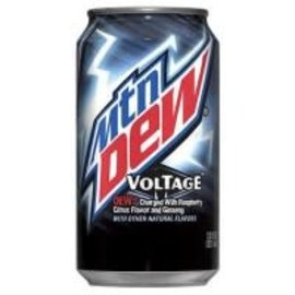 Mountain Dew Mountain Dew Voltage Raspberry Citrus