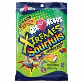 Airheads Airheads Xtremes Sourfuls Rainbow Berry 170 gr