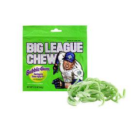 Big League Big League Chew Bubble Gum Sour Apple 60 gr