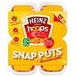 Heinz Heinz Spaghetti Hoops Snap Pot 4 x 200 gr