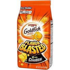 Goldfish Goldfish Crackers Extra Blasted Cheddar 187 gr