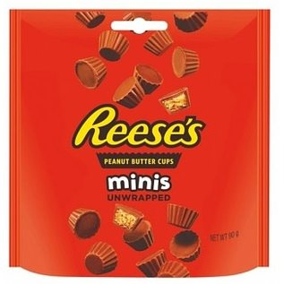 Reese's Hershey Reeses Mini Pouch 90g
