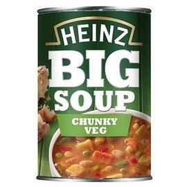 Heinz Heinz Big Soup Chunky Vegetable 400 gr