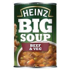 Heinz Heinz Big Soup Beef & Vegetable 400 gr