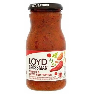 Loyd Grossman Loyd Grossman Tomato and sweet Red Pepper Sauce 350g