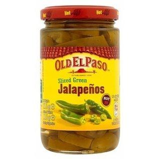 Old El Paso Old El Paso Sliced Jalapenos 215 gr