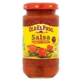 Old El Paso Old El Paso Hot Chunky Sauce 226 gr