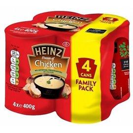 Heinz Heinz Classic Soup Cream Of Chicken 4 pack 4 x 400 gr