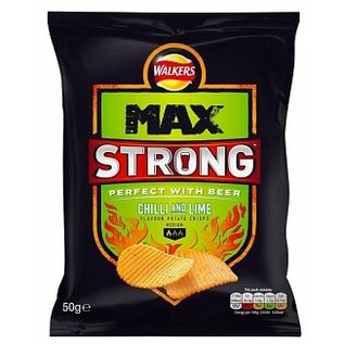 Walkers Walkers Max Strong Chilli & Lime 50 gr