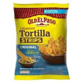 Old El Paso Old El Paso Crunchy Strips Salt 185 gr