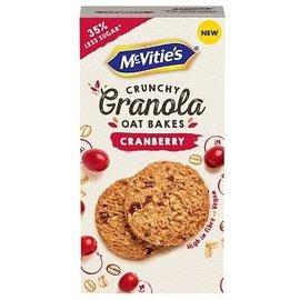 Mcvities Mcvities Granola Oat Bakes Cranberry 140 gr
