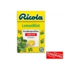 Ricola Ricola Lemon Mint 50 gr. Sugarfree