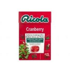 Ricola Ricola Cranberry 50 gr. Sugarfree