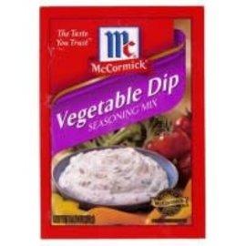 McCormick McCormick's Vegetable dip seasoning mix 13 gr