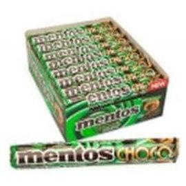 Mentos Mentos rol Choco & Mint 38 gr