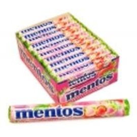 Mentos Mentos rol Strawberry Mix 37.5 gr