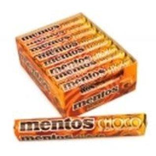 Mentos Mentos rol White Choco & Caramel 38 gr
