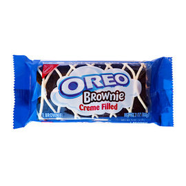 Nabisco Oreo Brownie Cream Filled  (Best By Date 21/May/2020)
