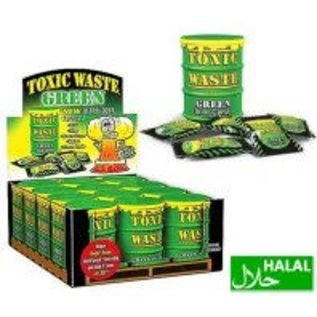 Toxic Waste Toxic Waste Green Sour Candy Drum