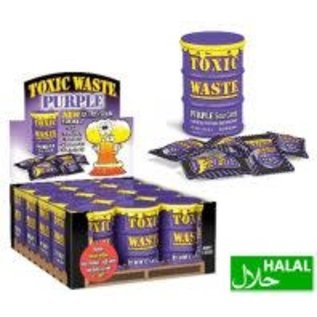 Toxic Waste Toxic Waste Purple Sour Candy Drum