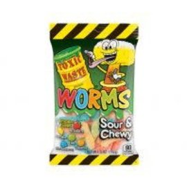Toxic Waste Toxic Waste Sour Worms 142 gr