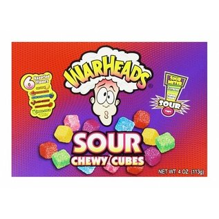 Warheads Warheads Chewy Cubes Theatre Box 113 gr.