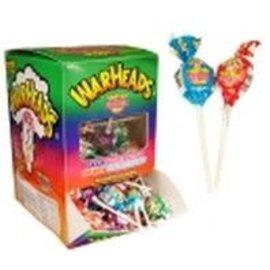 Warheads Warheads super sour Bubblegum Lollypop