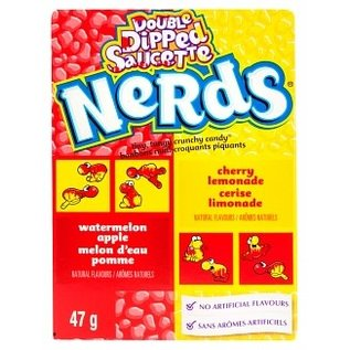 Nestle USA Wonka Nerds Watermelon-apple Cherry-Lemonade Small