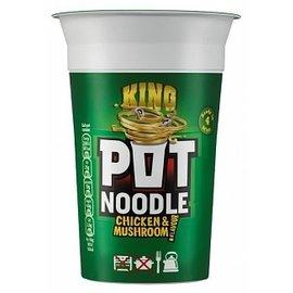 King Pot Noodle King Pot Noodle Chicken/mushroom 114 gr