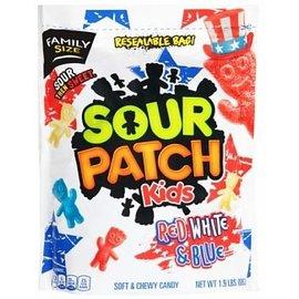 Sour Patch Kids Sour Patch Kids Red, White & Blue 862 gr