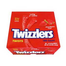 Twizzlers Strawberry Twizzlers 180 stuks